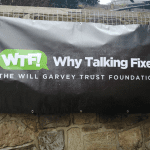 Outdoor Weather proof Banner for WTF